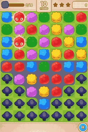 jelly splash board layout
