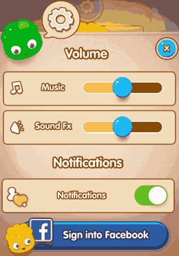 jelly splash settings