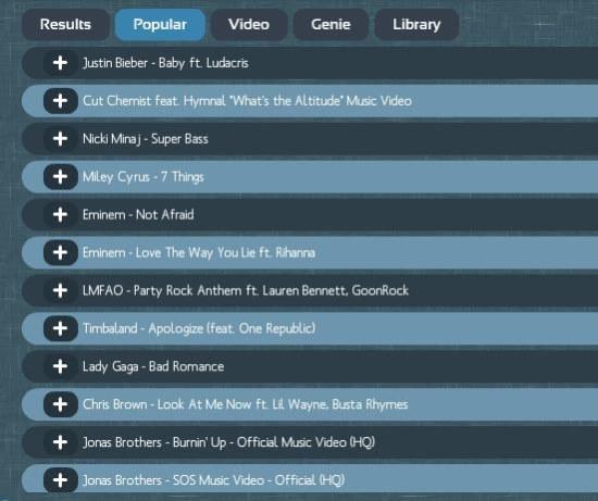 create a music playlist online free