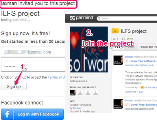 join the project