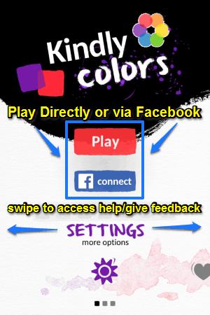 kindlycolors main ui