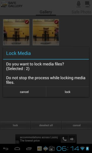 lock gallery app android 2
