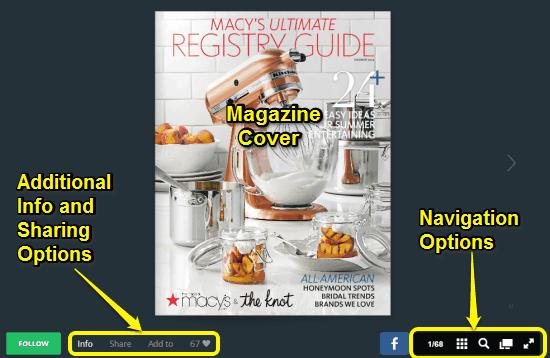 magazine online reader