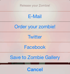 make a zombie sharing