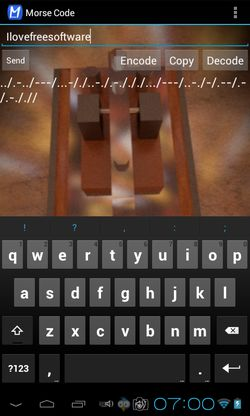 morse code trainer apps android 4
