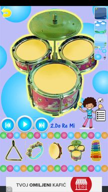 musical instrument apps android 5