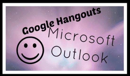 outlook hangouts header