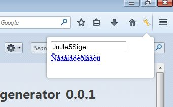 password generator addons Firefox 3