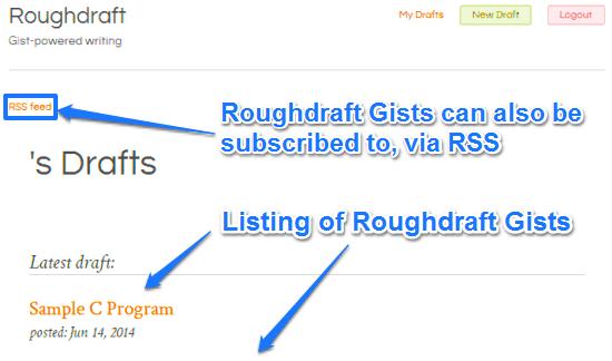 roughdraft namespace