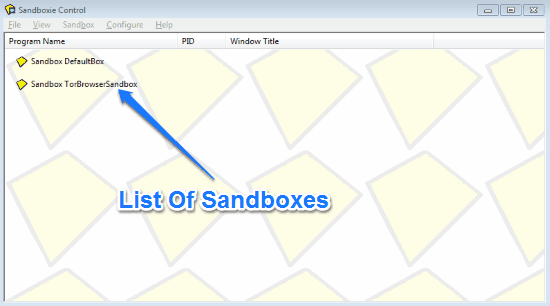 sandboxie control