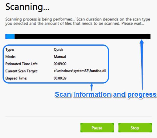 scan active