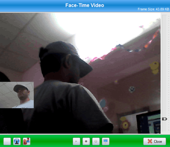 ssuite videophone facetime active call