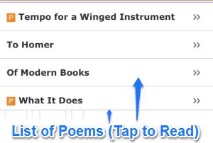 step 2 poetry poem list