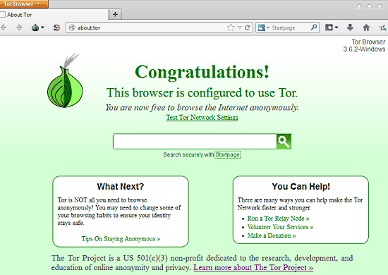 tor browser header
