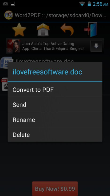 word to pdf converter apps android 2
