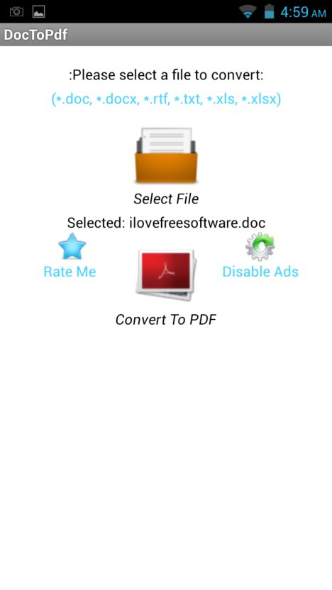 word to pdf converter apps android 3