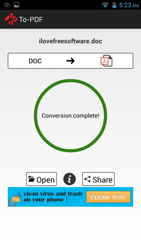 word to pdf converter apps android 4