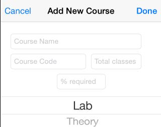 Adding A New Course
