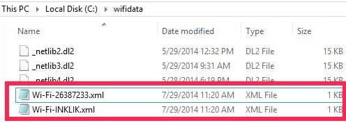 Backup Wireless Network-Files