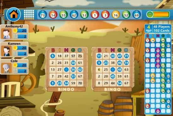 Stargames Bingo