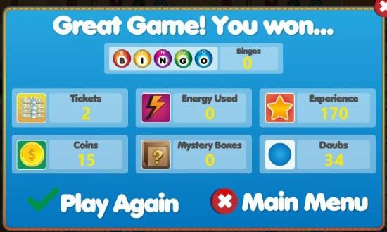 Bingo Star-Score