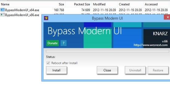 Boot To Desktop-Bypass