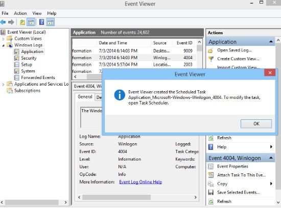 Boot To Desktop-Task Scheduler Finish