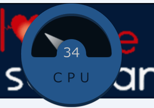 CPU usage monitor - Big Meter Pro
