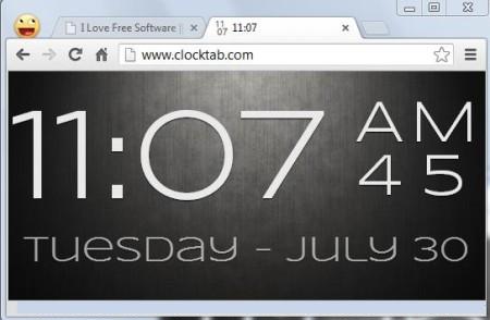 Clock final image