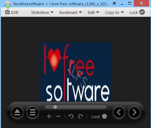 Honeyview- interface