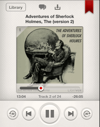 Listening to Audiobook and Controls