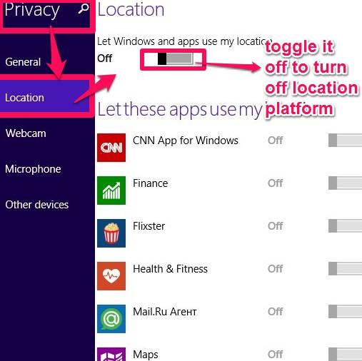 Location Platform-Privacy