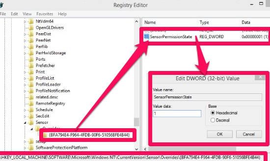 Location Platform-Registry