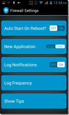 Mobiwol firewall settings