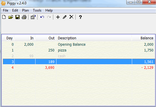 Piggy- free expense tracking software