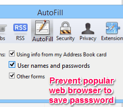 Prevent to save passwords - Featured Image