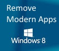 Remove Modern Apps