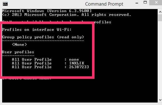 Remove Network-Check Profiles