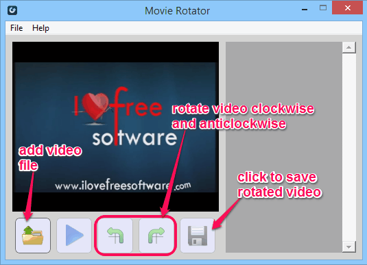 Rotate Videos - Movie Rotator