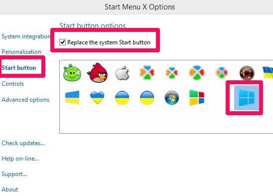 Start Menu X-Options