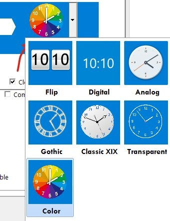 Start Screen Unlimited-Clock