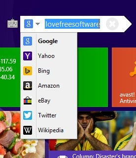 Start Screen Unlimited-Search