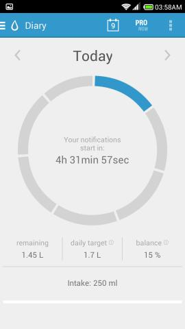 Stay Hydrated With Hydro Coach For Android