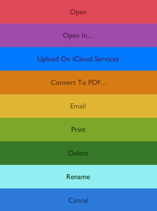 Tap on Convert to PDF
