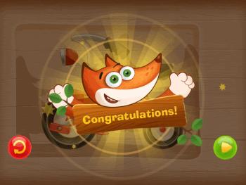 Tim the Fox Congratulatory Message