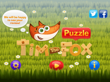 Tim the Fox Home page