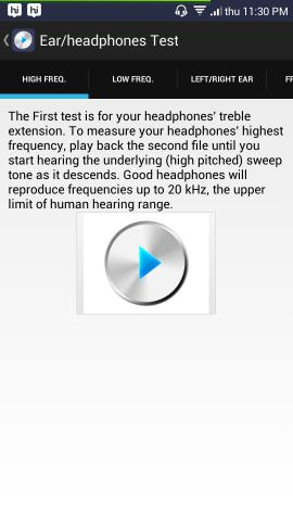 Ultimate Ear Headphone Test For Android How To Test headphones Using Android Device