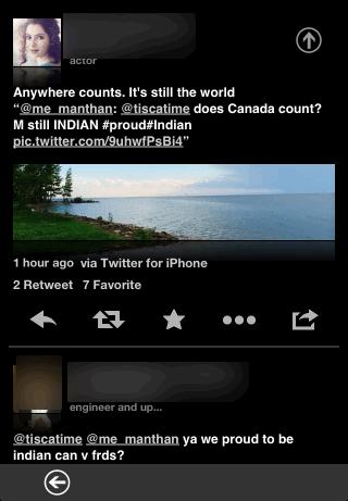 Viewing A Tweet