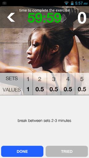 Workout trainer apps for Android 2