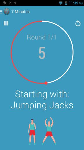 Workout trainer apps for Android 4